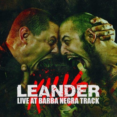LeanderKills - Live at Barba Negra Track CD+DVD front