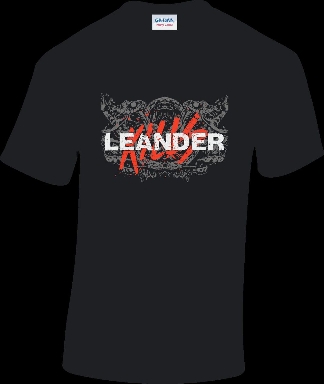 LeanderKills - Logo póló