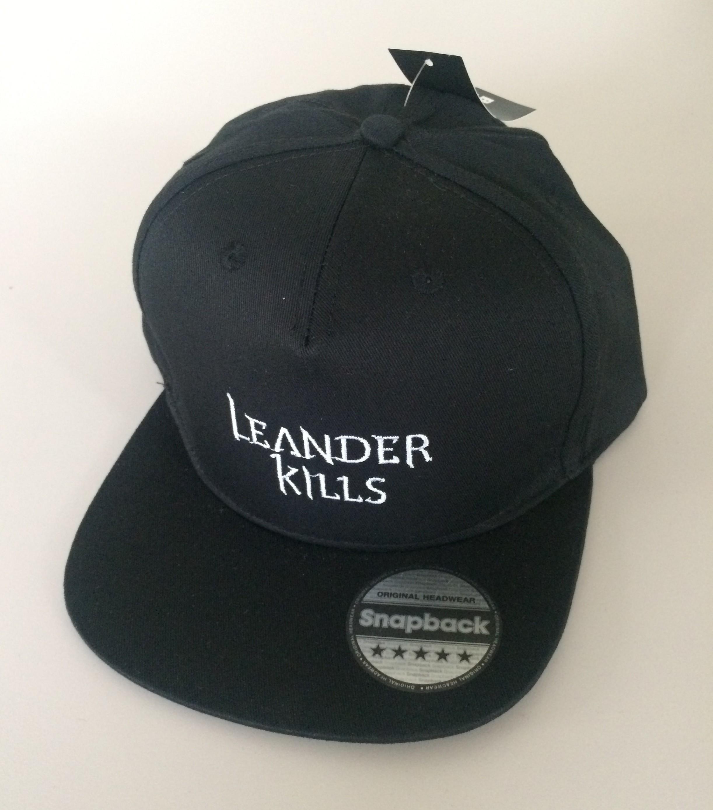 Leander Kills - sapka (snapback - fehér logo) ⋆ Leander Kills Webshop 40d22fb04e