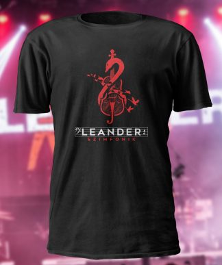 Leander Kills – Szimfonik– póló (fekete)