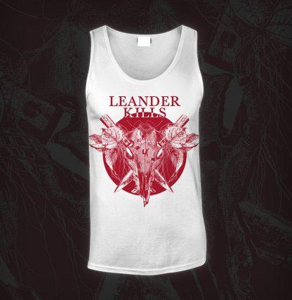 Leander Kills – Koponya -Trikó (fehér)