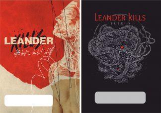 Leander Kills - dedikált plakát (keretezett) ⋆ Leander Kills Webshop 42524e742a