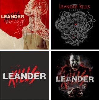 Leander Kills - bögre (fekete) 12cm x 9 4876d96247